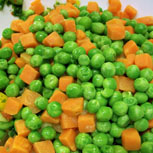 Organic Peas and Carrots