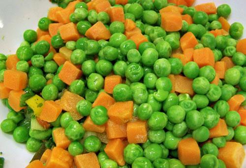 Organic Peas and Carrots