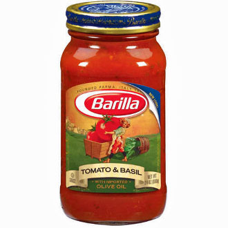 Barilla Tomato and Basil Pasta Sauce