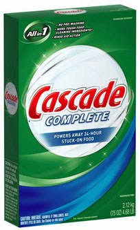 Cascade Powder Detergent