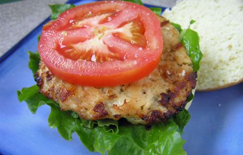 Chicken Cheddar Burgers