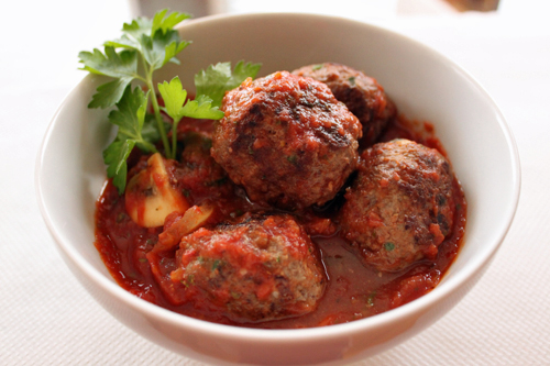 Extra Large Meatballs