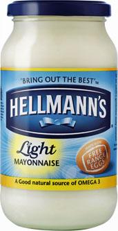 Hellman's Light Mayonnaise