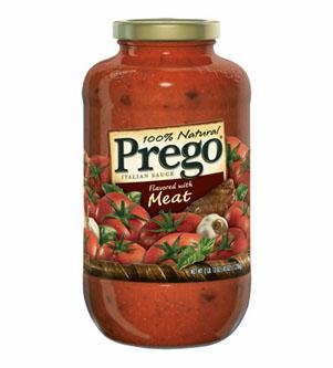 Prego Meat Pasta Sauce