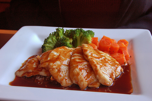 Teriyaki Chicken Cutlets