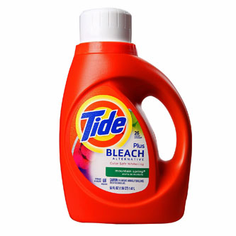 Tide With Bleach